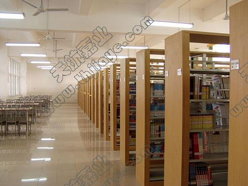 书架(加厚木制护板)-图书馆书架/智能书架-密集柜|柜